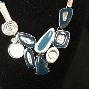 Artistic Accessory - Turquoise and Teal and Silver